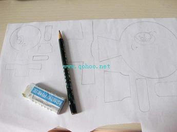 手工制作可爱手机链娃娃的窍门