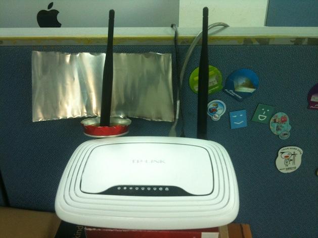 用铝罐自己做WiFi无线网路讯号增强雷达
