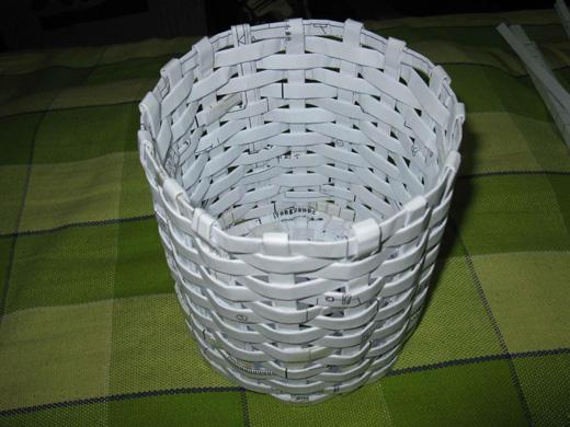 用塑料管编筐子步骤图