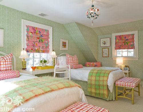 温馨居室之双胞胎卧室设计