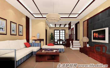装饰客厅拥有美丽的墙面颜色