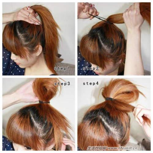 百种扎头发的方法,女生们看过来