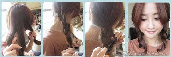 8种简单扎头发的方法,女生们学起来!