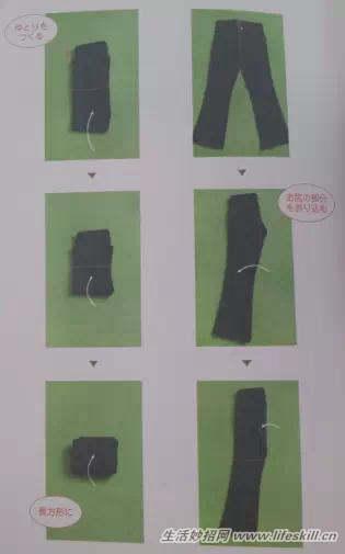 学会叠衣服 拥有个清新飒爽的衣柜