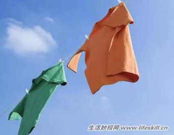 洗衣服污渍的小妙招,收藏肯定用的到!