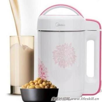 家用豆浆机使用介绍及保养方法