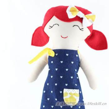 手工制作玩偶布娃娃