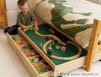 小戶型如何合理利用床下空間?