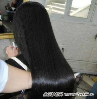 也没有自己修剪过头发,这样其实是不利于头发的生长的.图片
