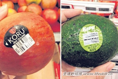 进口水果标签号码代表着什么?