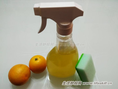 教你用橙皮制作天然清洁剂