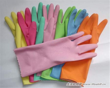 废橡胶手套的10个小妙用,别再丢掉了哦~