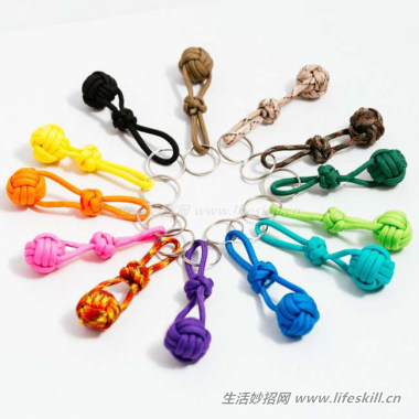巧用绳子编织出超可爱的装饰品