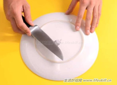 切菜到一半,刀钝了怎么办?