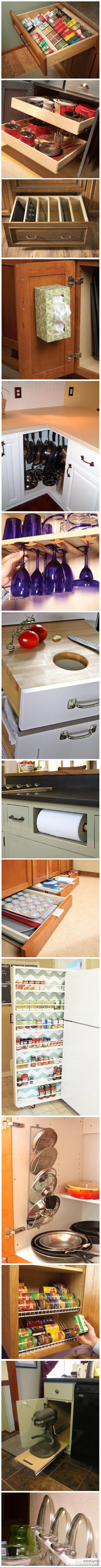 14种厨房物件巧收纳方法