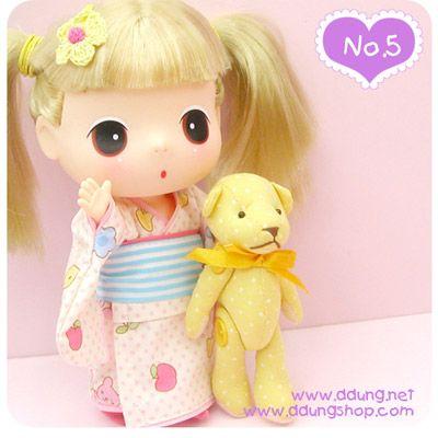 韩国12款超可爱的大眼睛娃娃