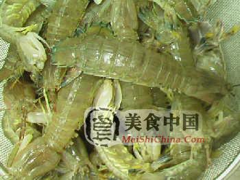椒盐皮皮虾做法的详细图解